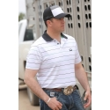 Cinch® Men's Areanflex Striped Polo