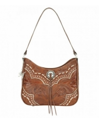 American West® Ladies' Sundance Zip Top Shoulder Bag
