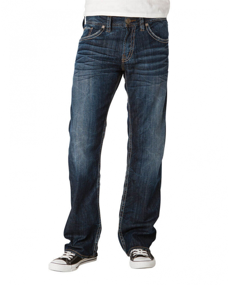 Silver Jeans® Men's Relaxed Fit Straight Leg Jeans - Fort Brands