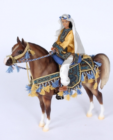 Breyer® Arabian Horse and Rider Gift Set