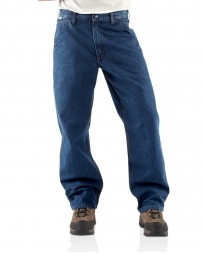 Carhartt® Men's Flame Resistant Denim Dungaree Pants