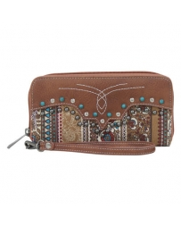 Way West Ladies' Briar Wallet