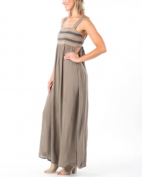 Umgee® Ladies' Embroidered Tie Back Maxi