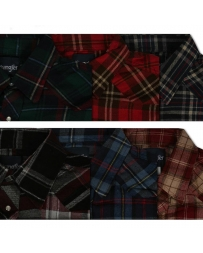 Wrangler® Men's Snap Flannel Shirt - Big and Tall