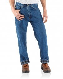 Carhartt® Men's Relaxed Fit Straight Leg Flannel Lined Jeans