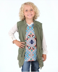 My Michelle® Girls' Youth Utility Vest