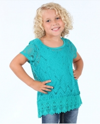 My Michelle® Girls' Crotchet Box Top