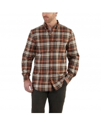 Carhartt® Men's Trumbull Plaid Long Sleeve Shirt - Big & Tall