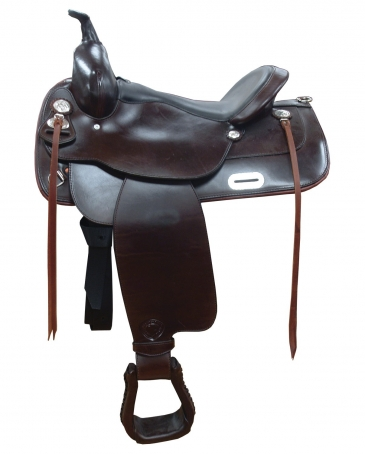 "TEX TAN® Waverly Tex-Flex Trail Saddle - 16"" Seat"