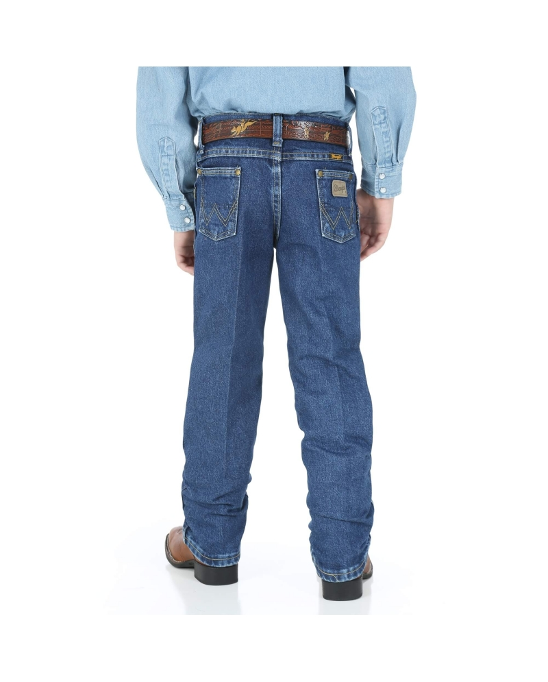 503e01cbd Wrangler® Boys' George Strait Original Cowboy Cut® Jeans - Husky. Previous.  Next