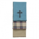 HiEnd Accents® Cross 3 PC Kitchen Towels