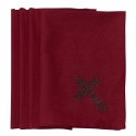 HiEnd Accents® Cross Napkin Set of 4