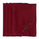 HiEnd Accents® Star Napkin Set of 4