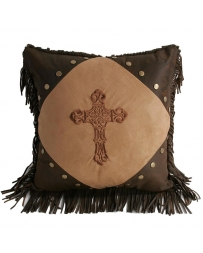 HiEnd Accents® Diamond Cross Pillow