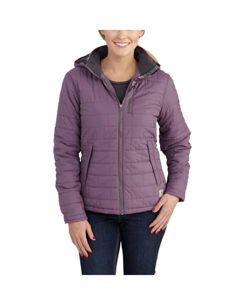 Carhartt Ladies Midweight Flannel Lined Amoret Quilted Jacket