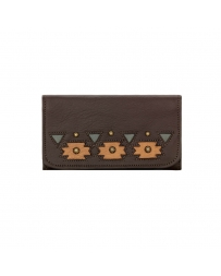 American West® Ladies' Chenoa Tri-Fold Wallet