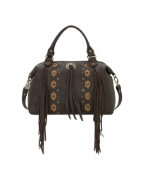 American West® Ladies' Chenoa Large Zip-Top Convertible Satchel