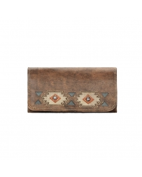 American West® Ladies' Native Sun Tri-fold Wallet
