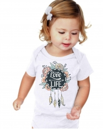Just 1 Time® Kids' Infant Love Life Onesie