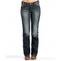 Rock and Roll Cowgirl® Ladies' Tuscan Sky Boyfreind Jeans