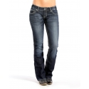 Rock and Roll Cowgirl® Ladies' Downtown Lowrise Boot Cut Jeans