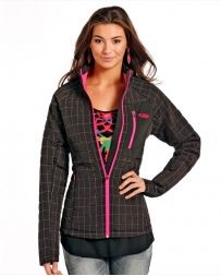 Rock and Roll Cowgirl® Ladies' Perf Puff Jacket
