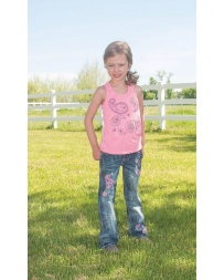 Cowgirl Tuff® Girls' Racer Back Tank
