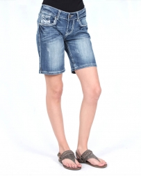 Cowgirl Tuff® Ladies' Hippie II Bermuda Shorts