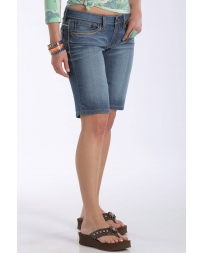 Cruel® Ladies' Low Rise Bermuda Shorts