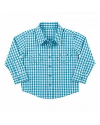 All Around Baby by Wrangler® Boys' Clayton Long Sleeve Shirt
