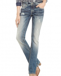 Miss Me® Ladies' Mid Rise Boot Cut Jeans