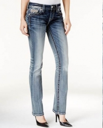 Miss Me® Ladies' Mid Rise Slim Boot Jeans