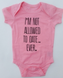 Just 1 Time® Kids' No Dating Onesie