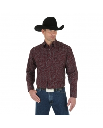 Wrangler® Men's George Strait Troubadour Long Sleeve Shirt