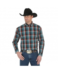 Wrangler® Men's George Strait Long Sleeve Button Shirt