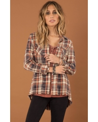 White Crow® Ladies' Lonestar Plaid Shirt