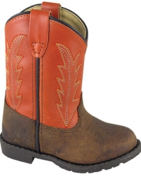 Smoky Mountain® Boots Kids' Toddler Brown & Orange Boots