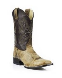Stetson® Men's Elijah Wide Square Toe Boots