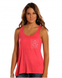 Panhandle® Ladies' Junior Hot Pink Tank Top
