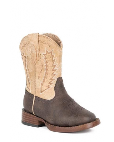 Roper® Kids' Infant Billy Brown Boots