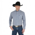 Wrangler® Men's George Strait Long Sleeve Button Shirt - Big/Tall