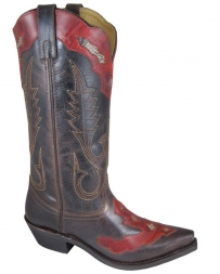 Smoky Mountain® Ladies' Brown Vienna Overlay Boots