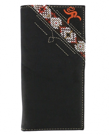 Hooey® Men's Roughy Sign Black * Azter Rodeo Wallet