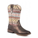 Roper® Kids' Youth Aztec Print Boots
