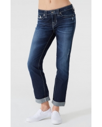 Big Star Ladies' Kate Mid Rise Straight Leg Jeans