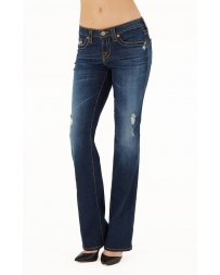 Big Star Ladies' Liv Fit Lowrise Boot Cut Jeans