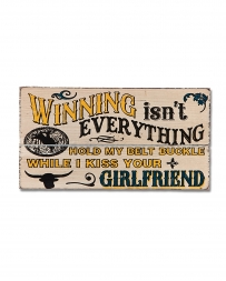 Montana Lifestyles® Winning Isn't Everything Magnet