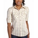 Carhartt® Ladies' Huron 3/4 Sleeve Shirt