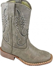 Smoky Mountain® Boots Kids' Amarillo Squared Toe Grey Boots
