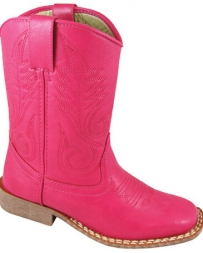 Smoky Mountain® Boots Girls' Amarillo Squared Toe Pink Boots
